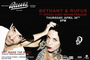 Bethany and Rufus flyer copy