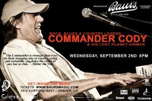 Commander Cody flyer copy