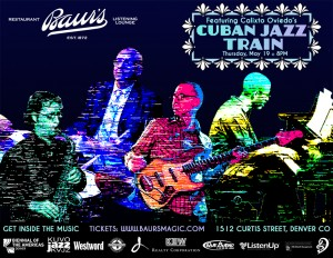 Vector Border+Cuban Jazz Train1