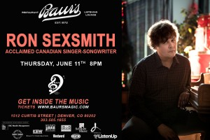 Ron Sexsmith Flyer